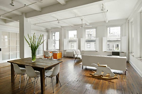 Spacious new york loft for sale for Apartment new york for sale