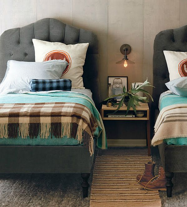 Three ways of creating a warm and cozy guest bedroom