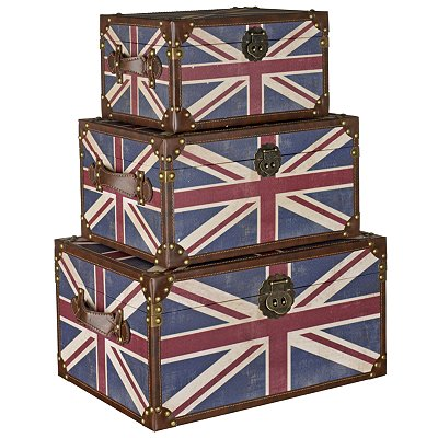 The Union Jack Trunk Set