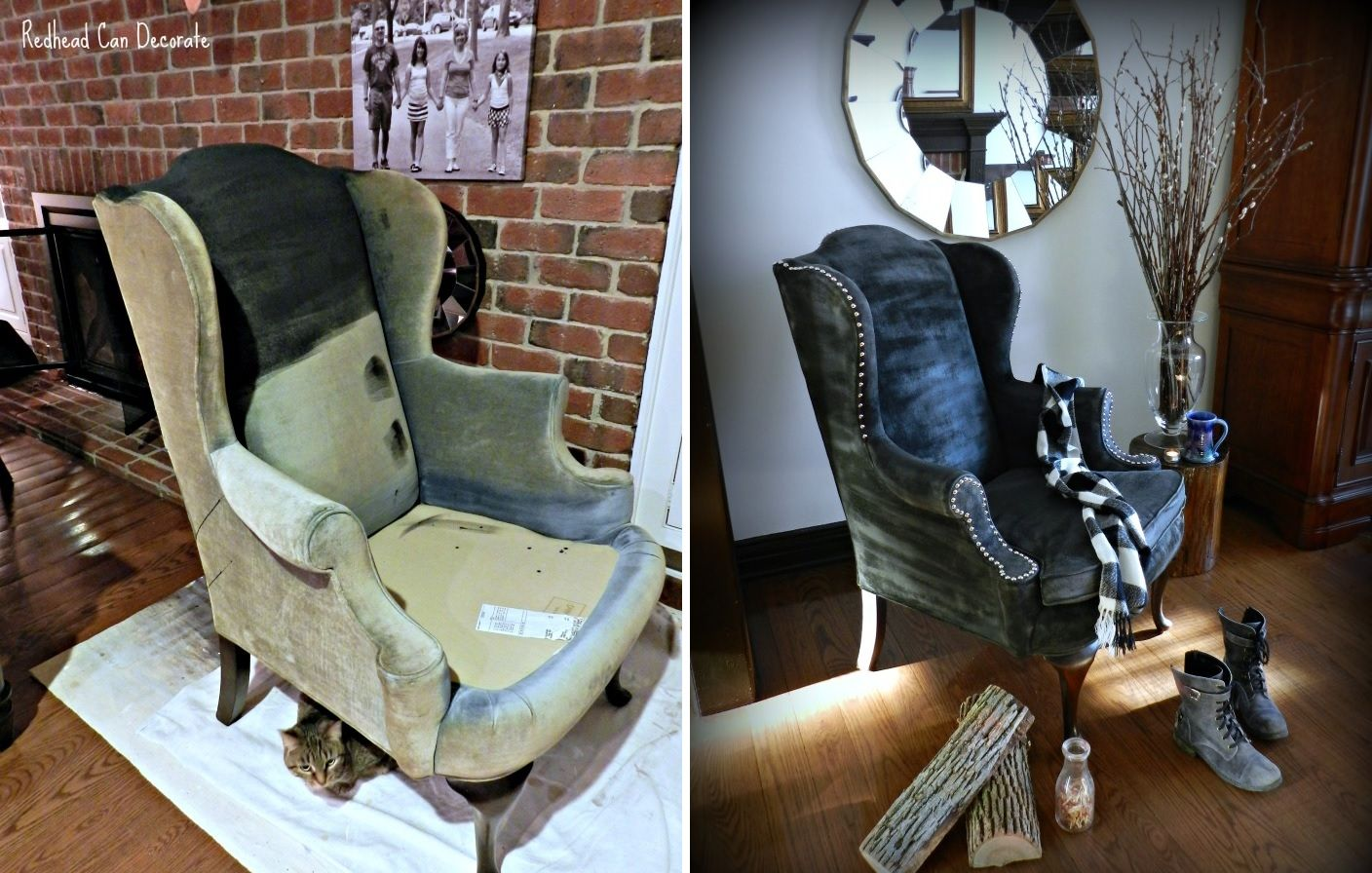 upholstery and the chair