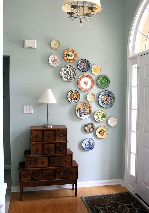 How To Hang Plates On A Wall To Create An Eye Catching Look