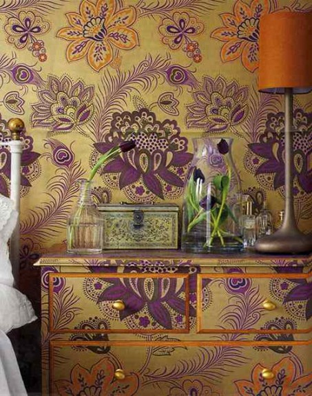 wallpaper ideas for decorating walls7 Victorian Wallpaper With a Twist! Eight Great Feature Wallpaper Ideas