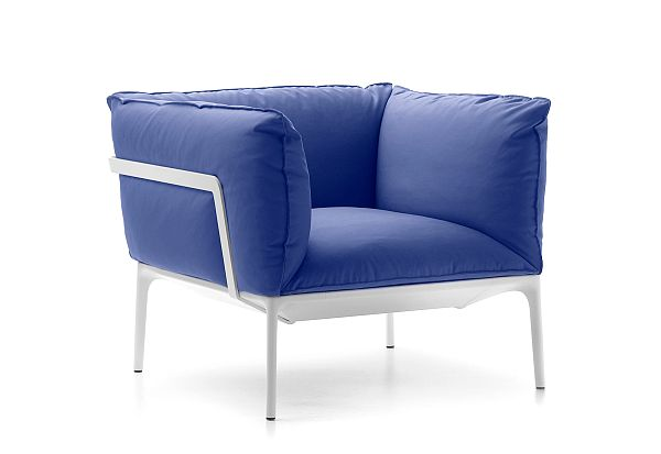 The YALE Easy Chair Down Version By Jean Marie Massaud