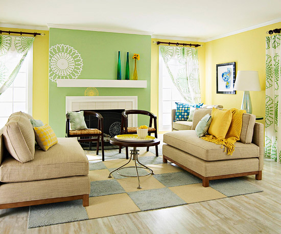 Yellow Living Room Cool Yellow Living Room Design Ideas Decorating Inspiration