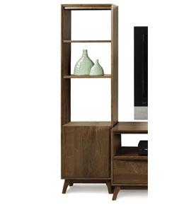Catalina Walnut Tower Bookshelves