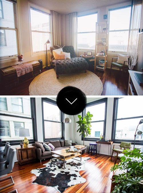 Aparment living room makeover