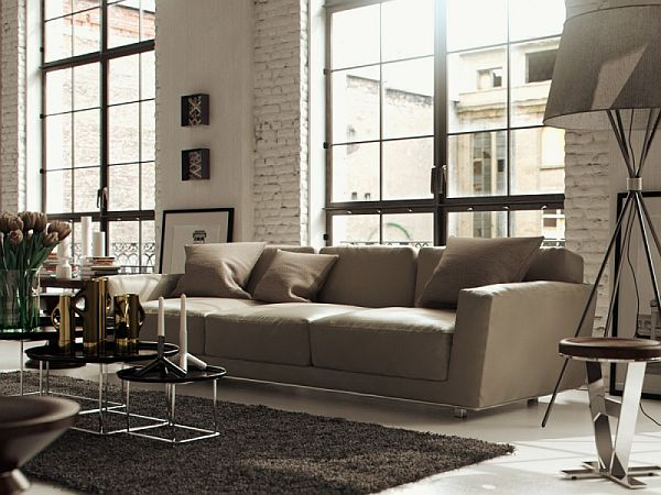 Modern Chicago loft interior design