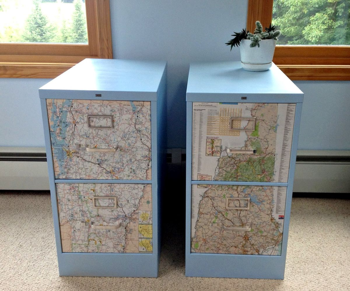Cabinet files revamp with maps