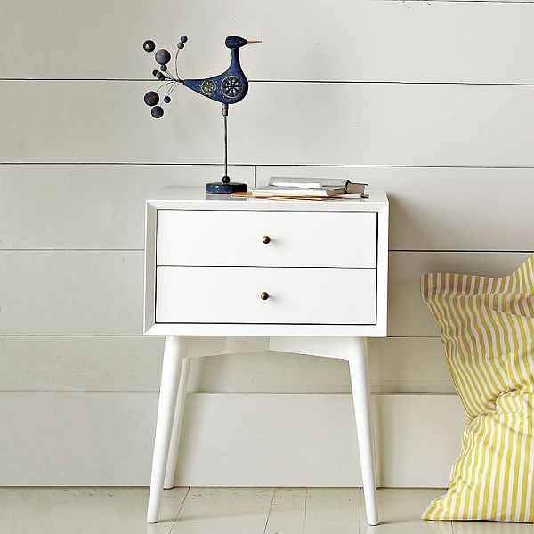 Chic And Simple Mid Century Nightstand