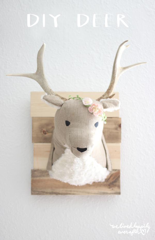 DIY Deer Head
