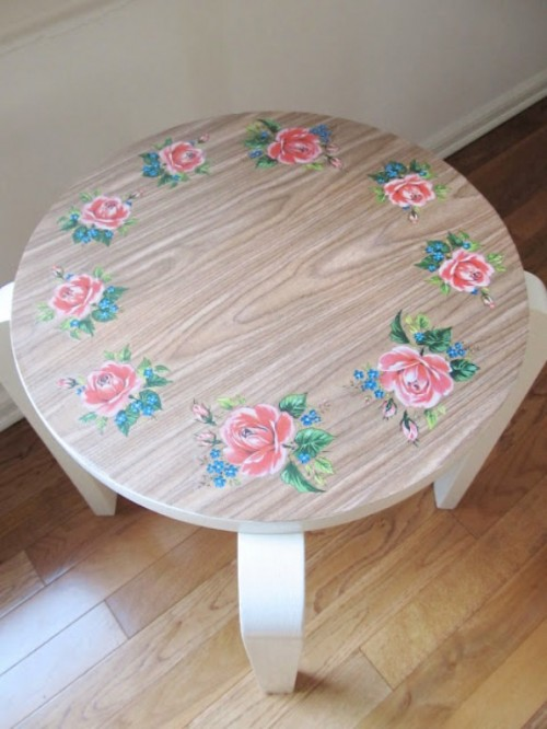 DIY Pretty Vintage Stools3