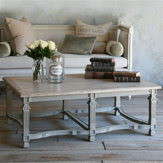 Eloquence Medici Coffee Table With An Antique Feel