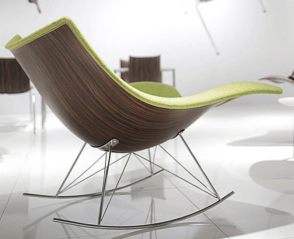 Fredericia Stingray Wood Rocker