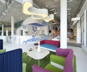 Fun and Colorful Unilever Office in Switzerland