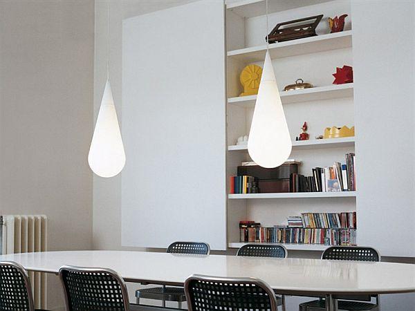 The Goccia suspension lamp by Andrea Branzi