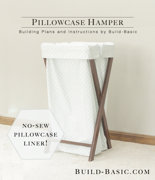 How to update your laundry room with a chic diy hamper hamper pillowcase solutioingenieria Image collections