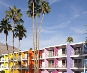 Colorful Saguaro Hotel in Palm Springs