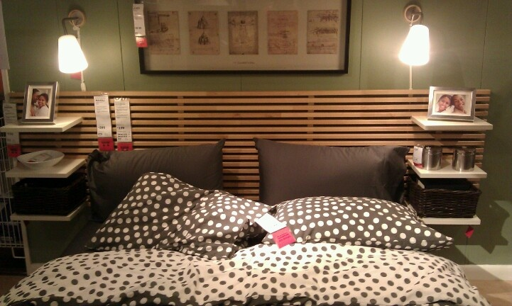 Headboard With Ikea Furntiure