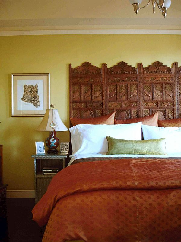lean to screen panels 34 diy headboard ideas