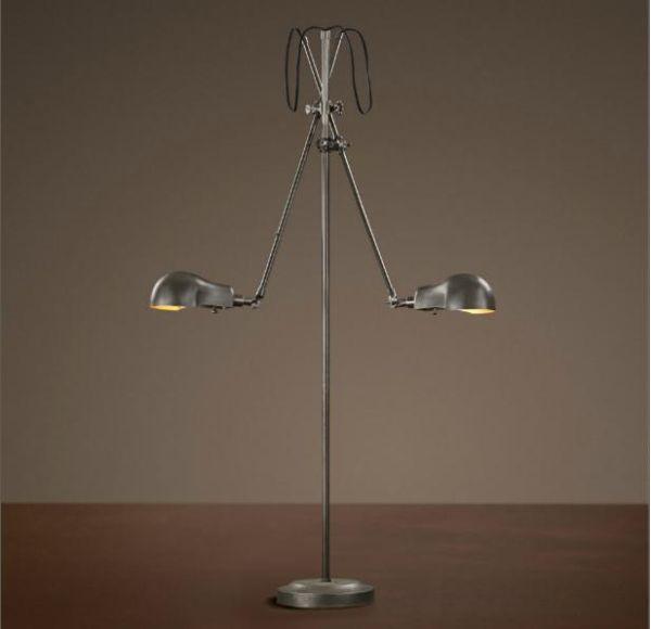 Industrial Pharmacy Floor Lamp