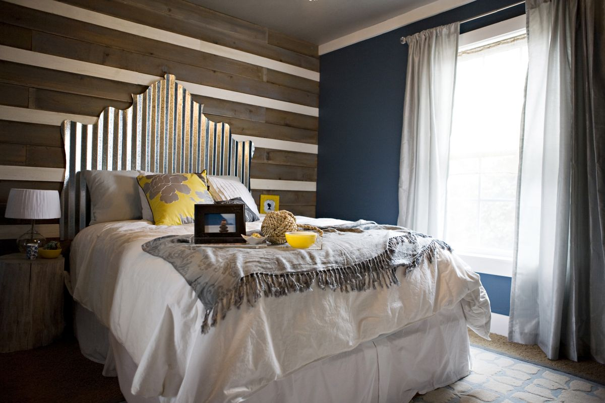 Ideas For Homemade Headboards 34 diy headboard ideas