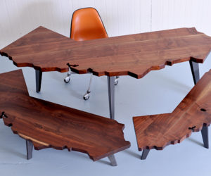 The California collection of desks and tables by J. Rusten Furniture Studio