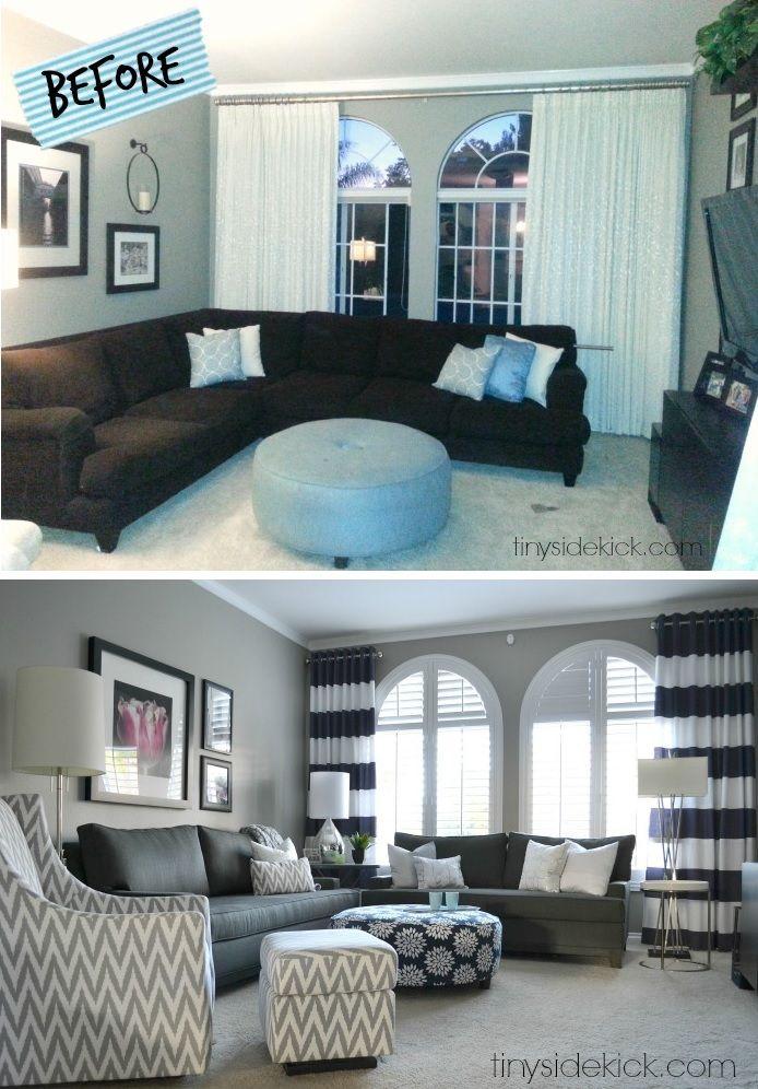 Living room makeover design