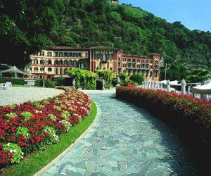 The impressive Villa d'Este in Italy with 25 acres of gardens