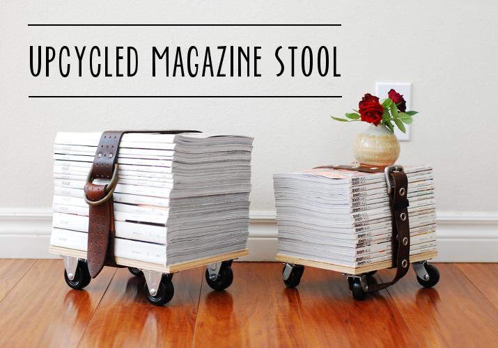 Magazine stools