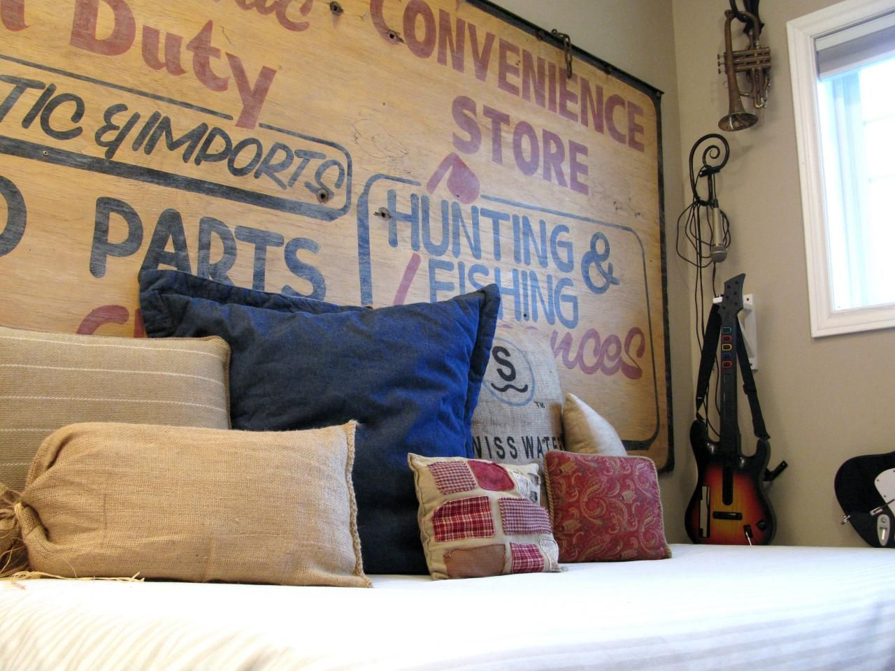 34 diy headboard ideas for Different headboards