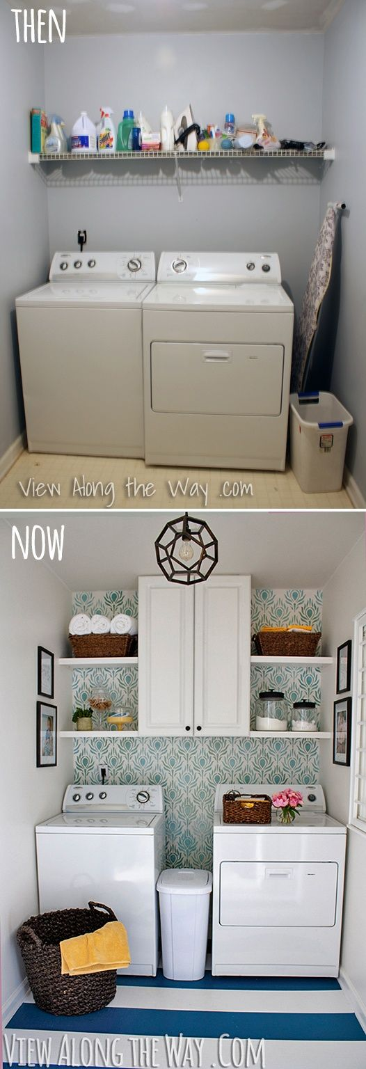 Perfect laundry room makeover