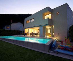 A 640 sqm Modern Switzerland House