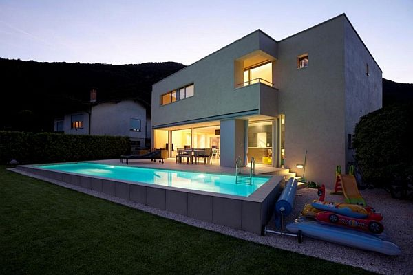 A 640 Sqm Modern Switzerland House