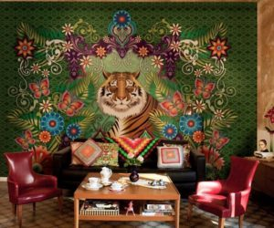Themed wallpapers to make your home friendly and colorful