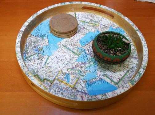 Tray maps