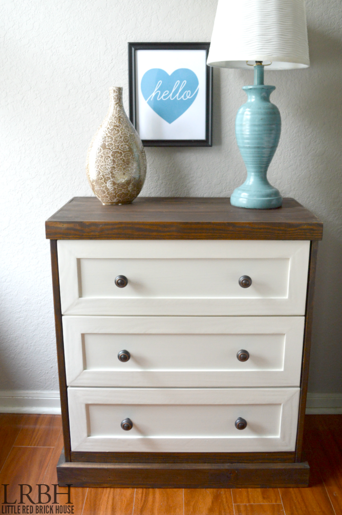 Two Toned Ikea Rast Dresser Hack Images