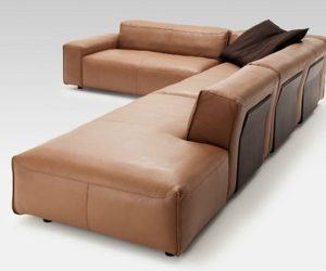 Elegant Rolf Benz Corner Sofa