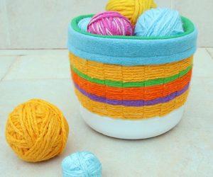 Practical DIY Woven Basket