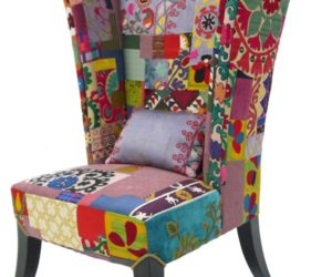 The colorful Prague chair from the Xalcharo Collection