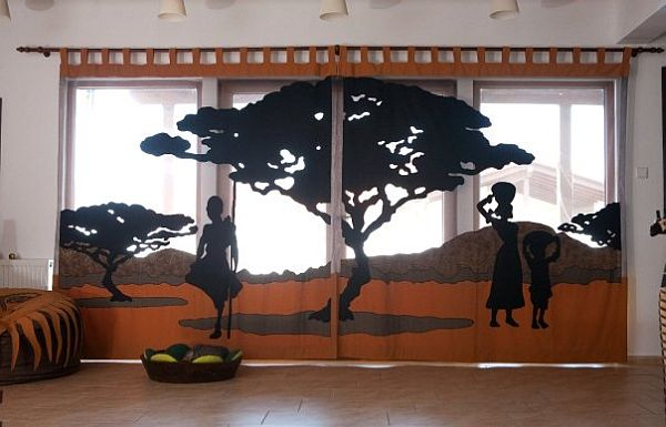 African themed interior design from carecutare