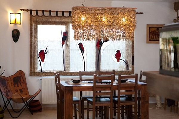 African Themed Interior Design From Care Cutare