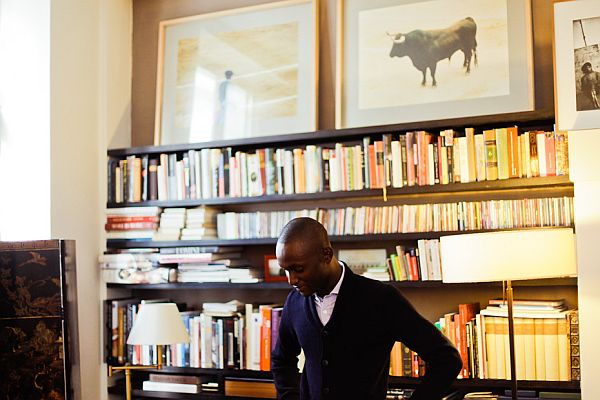 alpha sidibe s chic paris apartment. Black Bedroom Furniture Sets. Home Design Ideas