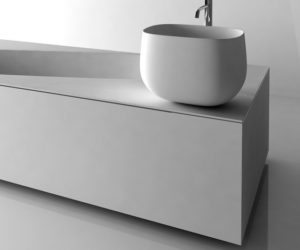 Simple washer basin from Antonio Lupi