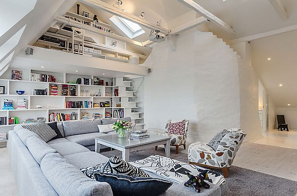 Beautiful And Clean Attic Apartment In Stockholm