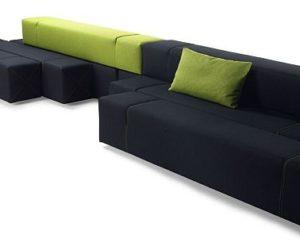 Contemporary Multifunctional Art Lover Sofa from Andreas Berlin