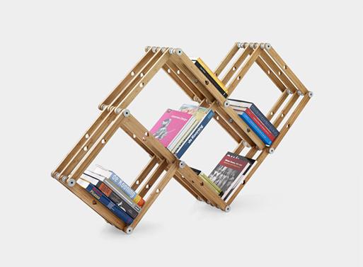 Ingenious Modular shelving system