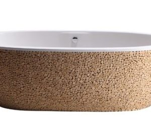 Baignoire Stone Pixel Tub U2013 A Nature Inspired Wood Finish Bathtub By Bleu  Nature