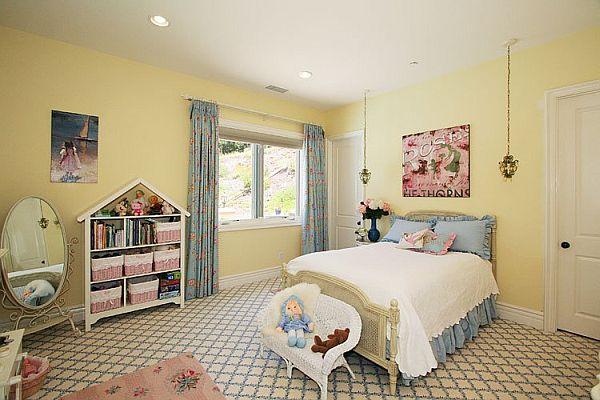 Girls Bedroom Ideas Yellow more beautiuful girls bedroom decorating ideas