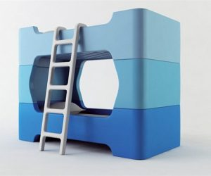 Bunky – a friendly bunk bed design for kids by Marc Newson