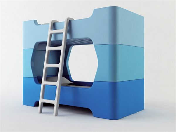 Compact Bunk Beds bunky – a friendly bunk bed design for kidsmarc newson